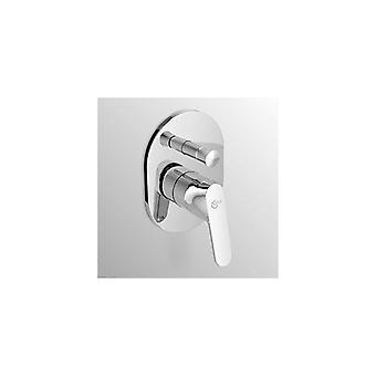Diverter In recessed Shower Mixer, Chrome Ideal Standard A5961a Ceraplan