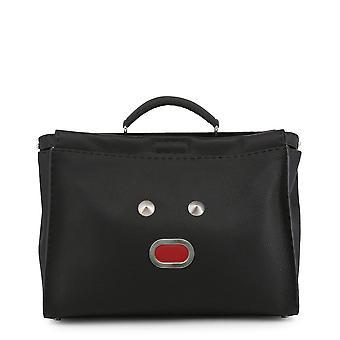 Fendi Original Unisex All Year Briefcase - Black Color 34353
