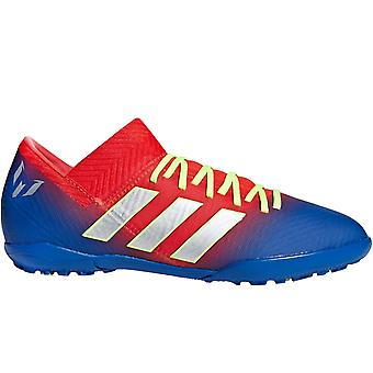 adidas Performance Boys Kids Nemeziz Messi Tango 18.3 Turf Football Boots - Red