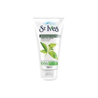 St Ives Green Tea Black Head Scrub 150ml