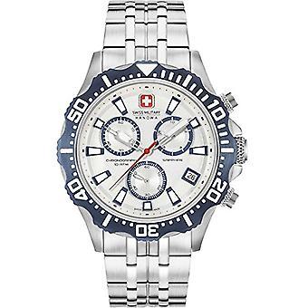 SWISS MILITARY-HANOWA 06-5305.04.001.03-quartz analogue watch with stainless steel band