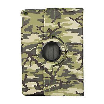 Case iPad 10.2 (2019) 7e gen 360 rotatie Camouflage - Groen