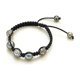 Luna Pearls Beaded Bracelet Galatea Tahiti Beads 8-12mm 1065053