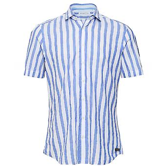 Baldessarini Striped Short Sleeve Keith Shirt