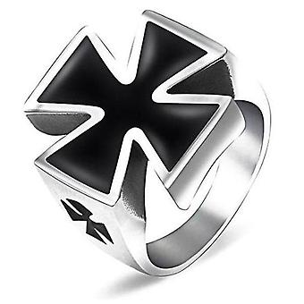 Cross-knight templar ring