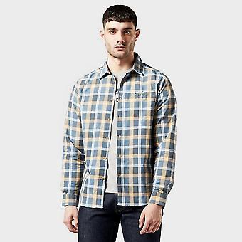 Nieuwe Craghoppers Men's Nosilife Balbor Long Sleeved Check Shirt Blauw