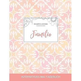 Maltagebuch fr Erwachsene Familie Schildkrten Illustrationen Elegantes Pastell by Wegner & Courtney