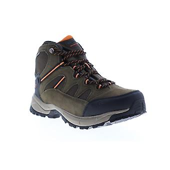 Hi-Tec Allendale Mid Waterproof  Mens Brown Suede Lace Up Hiking Boots
