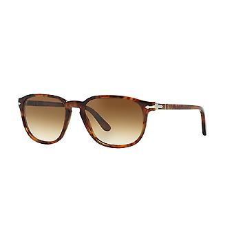 Persol PO3019S 108/51 Spotted Havana/Crystal Brown Gradient Sunglasses
