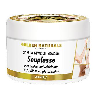 Golden Naturals Suppleness Muscle & Joint Balm (200 milliliters)