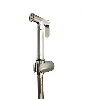 Hydroscope Kit Shower Wc With Flexible And Support, All Brass