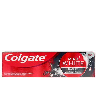 Colgate Max Bílé uhlíkové těstoviny Dentífrica 75 ml Unisex