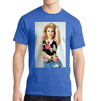 Married With Children Kelly Cross Men's Royal Blue T-shirt