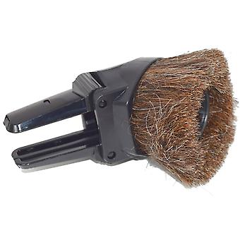 Universal 32m Black Combination Round Winged Brush And Upholstery Vacuum Tool