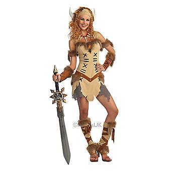 Costume de princesse viking de femmes
