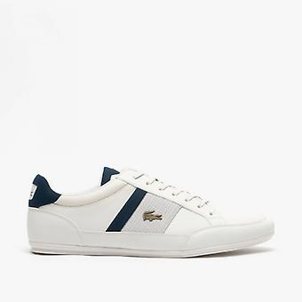 Lacoste Chaymon 120 4 Mens Trainers Off White/navy