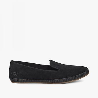 UGG Camryn Ladies Suede Slip On Shoes Black