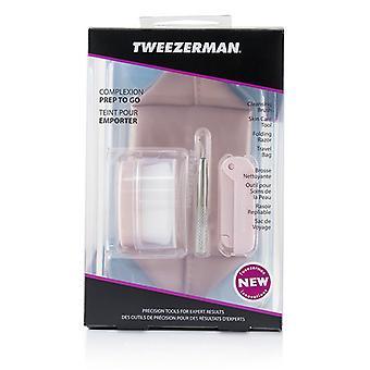 הטוויטר עור להכין ללכת להגדיר: מברשת ניקוי + הכלי טיפול בעור + תער מתקפל + תיק נסיעות 3יח filter kit + 1 שק
