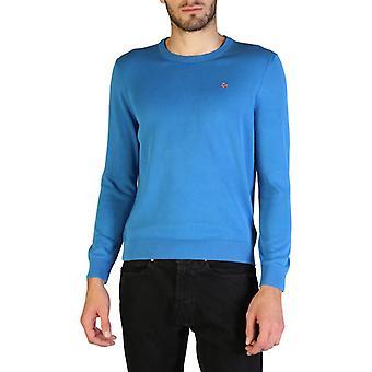 Man cotton long sweater round t-shirt top n58999