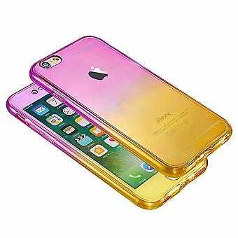 Hybrid 360 New Shockproof Case TPU Gel Skin Cover For Apple iPhone 8 7 5s 6s SE