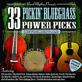 33 Pickin? Bluegrass Power Picks - Instr - 33 Pickin? Bluegrass Power Picks-Instr [CD] USA import