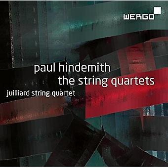 Hindemith / Juilliard String Quartet - Paul Hindemith: String Quartets [CD] USA import