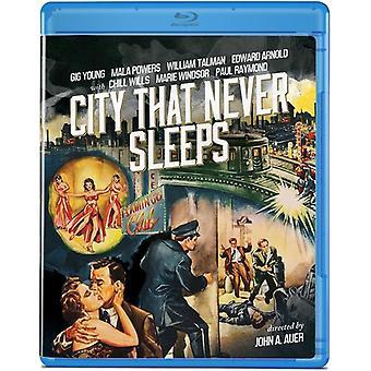 City That Never Sleeps (1953) [BLU-RAY] USA import