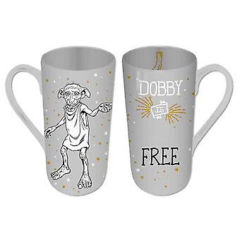 Harry Potter Mug Dobby Dobby Is Free new Official Heat Changing Latte Boxed