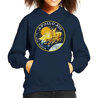 NASA Apollo 13 Mission Badge Kid's Hooded Sweatshirt