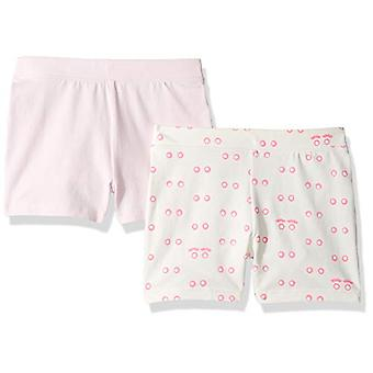 / J. Crew Brand- LOOK by Crewcuts Girls' 2-Pack Tumble Short, Eyes/Pink...