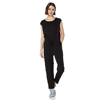 ブランド - 毎日の儀式の女性&アポス;sテンセル半袖ジャンプスーツ、黒、6