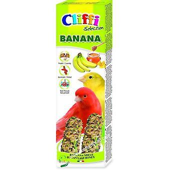 Cliffi Canary Banana Sticks / honey 2Pz/60Gr.cliffi (Birds , Bird Treats)