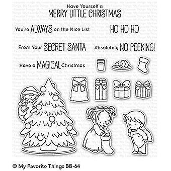 Mijn favoriete dingen Secret Santa Clear Postzegels