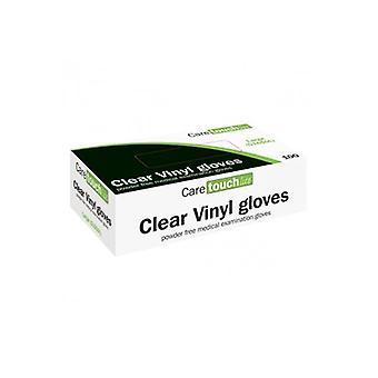 Caretouch vinil eldivenler - pudrasız orta