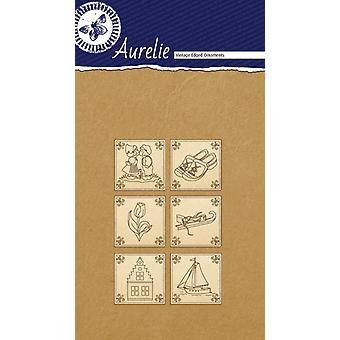 Aurelie Made In Holland #2 Vintage Edged Ornaments