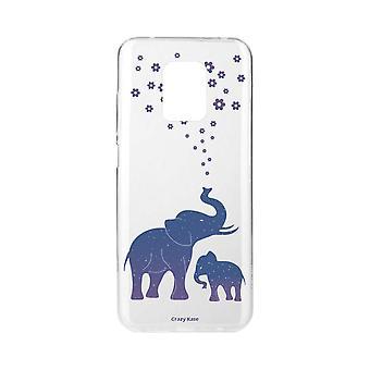 Casco para Xiaomi Redmi Note 9 Pro Elefante Azul Macio