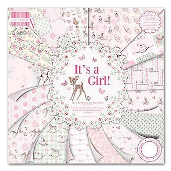 """Primera Edición 12""""x12"""" Pad - It's a Girl"""