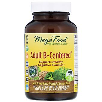 MegaFood, Adult B-Centered, 90 tabletten