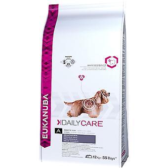 Eukanuba Daily Care Piele sensibilă - 12kg
