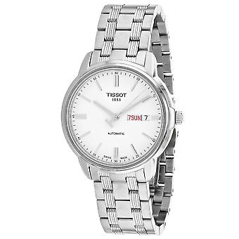 Tissot Hombres's T-Classic Reloj de marcación blanca - T0654301103100