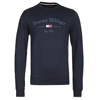 Tommy Hilfiger Artwork Navy Sweatshirt