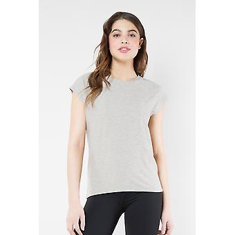 Kyodan Naisten Basic Solid Lyhythihainen T-paita Moss Jeresy Top