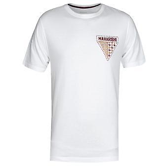 Maharishi World Tribe Embroidered White T-shirt