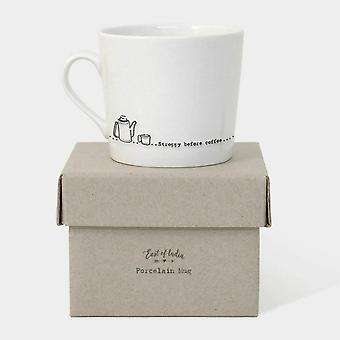 Ten oosten van India wiebelende mok voor koffie - geschenk voor koffie liefhebbers Stroppy