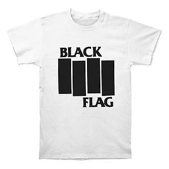 أشرطة العلم الأسود والشعار تي شيرت