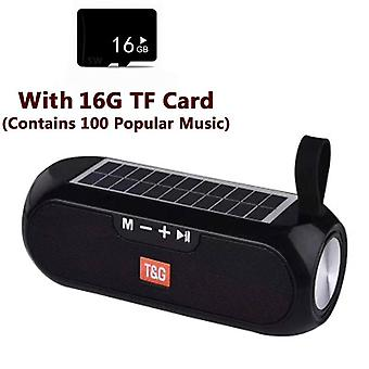 Portatile Wireless Bluetooth Bass Altoparlante Stereo Scatola Musicale Impermeabile Usb Aux Fm