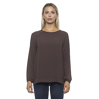 Pullover Marron Alpha Studio Women