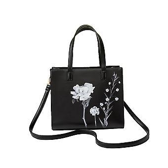Womens/ladies Floral Print Handbag