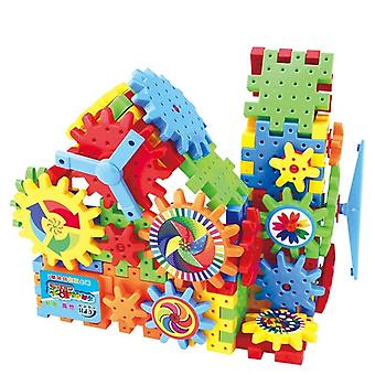 82 Pieces Of's Electric Gear Building Block- Diy Assembly And Development Of