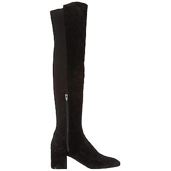 Kenneth Cole New York Womens 7 Eryc Fabric Square Toe Over Knee Riding Boots